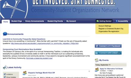 New Platform to Host Student Organizations
