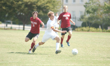 Freshman Dylan Price Scores Twice, Men's Soccer Earns First Win of Season