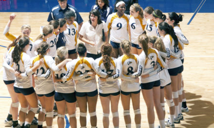 Eagles Only Drop Two Sets, Sweep Invitational