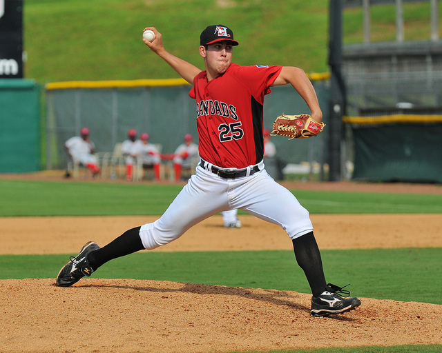 Former Eagle Playing Pro Ball