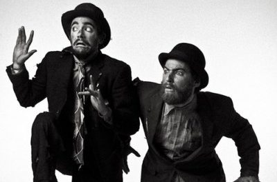 Fulham and Clapham Present 'Waiting for Godot:' Beckett's Tragicomedy Hits the Stage with a Slapstick Twist