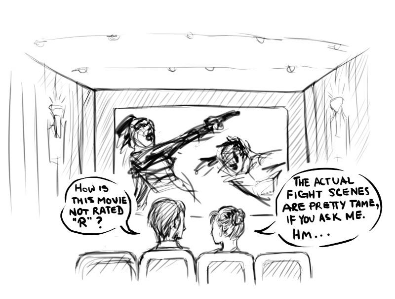Violence in Hollywood Cinema
