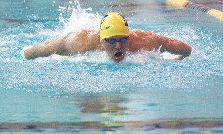 Swimming and Diving Beats BSC On Parents' Weekend