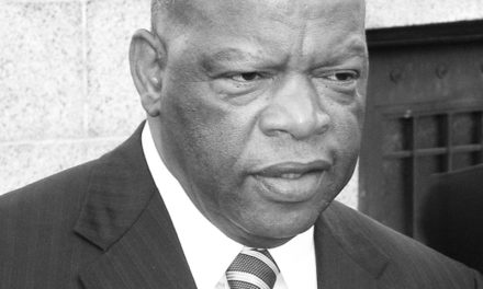 A Noble Act by Congressman Lewis
