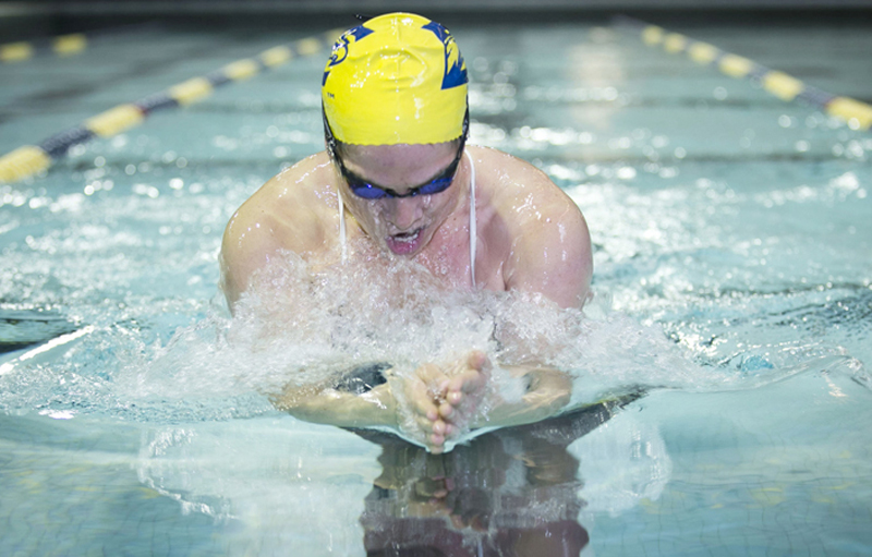 Men's, Women's Swimming Teams to Open Season