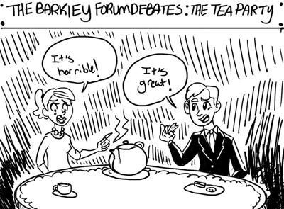 Wheel Debates: Opposed to the Tea Party