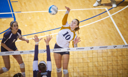 Volleyball Team of to Strong Start in Conference