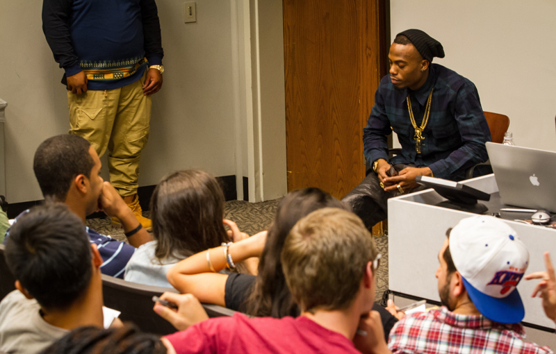 WMRE Brings B.o.B. for Focus Group
