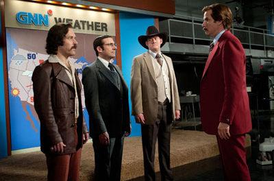 Q&A: Will <i>Anchorman 2</i> Brick?