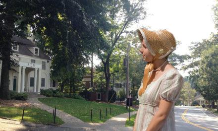 Jane Austen Visits Eagle Row
