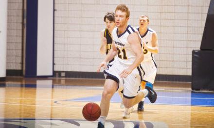 Men's Basketball Falls to CMU, Tops Case Western