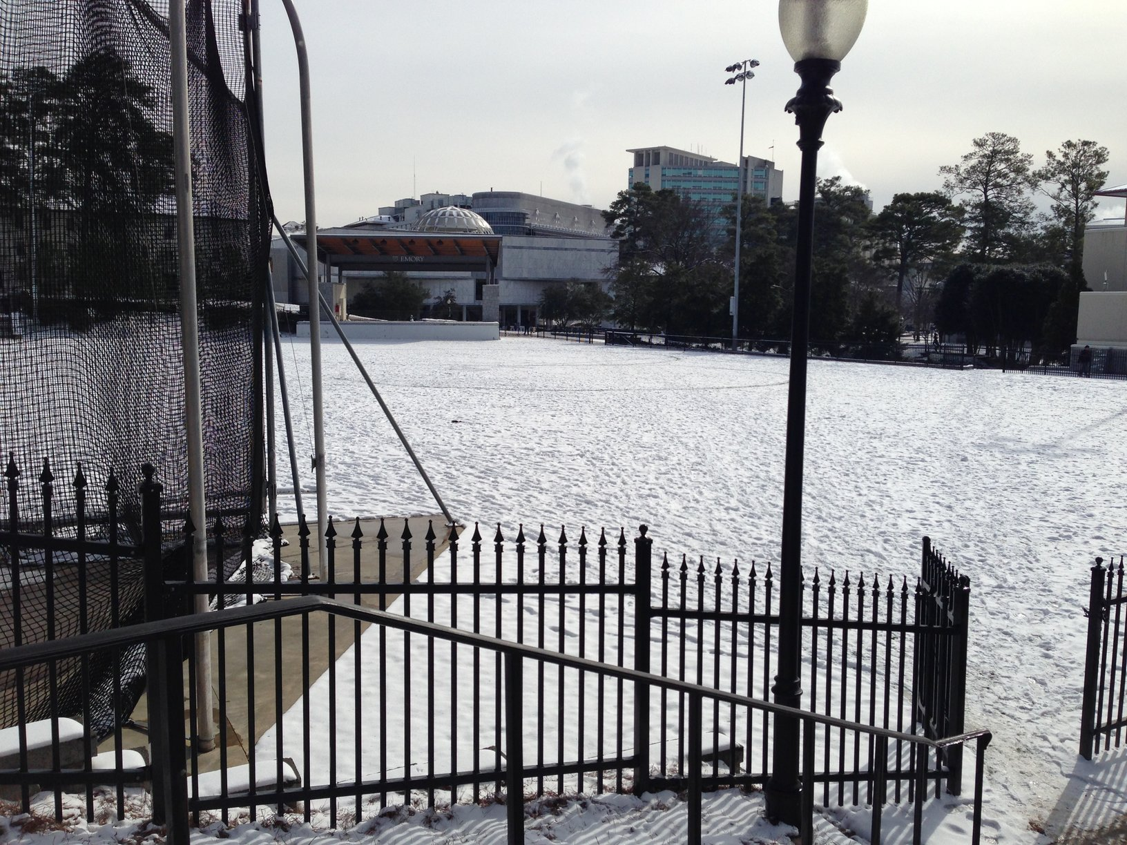 Emory Community Responds to Second Winter Storm