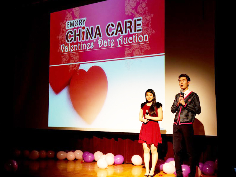 China Care Club Hosts Date Auction