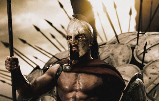 "Courtesy of Warner Brothers  Warner Brothers' new release ""300: Rise of an Empire"" exists in the same world as 2006's ""300."" Both films are loosely inspired by historic Spartan battles."