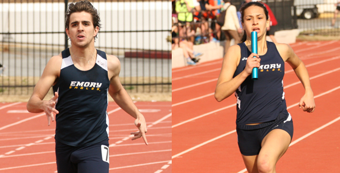 Men, Women Finish First and  Second in Emory Invitational