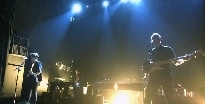 The xx Gets  Intimate at Georgia Theatre
