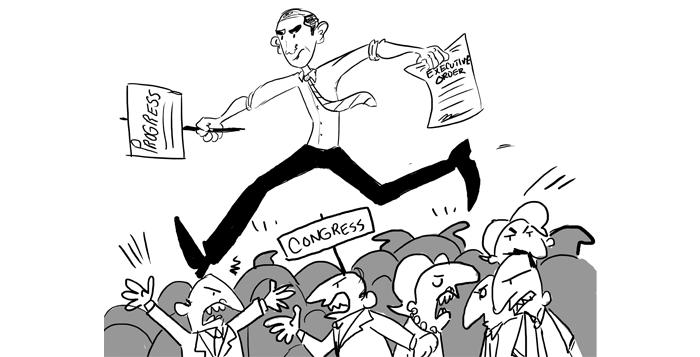 Obama Changes Washington At A Distance