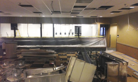 Faculty Dining Room Replaced