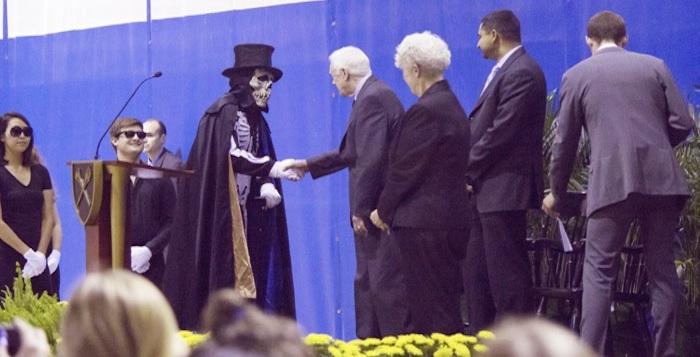 Carter Explores Ebola, Iran at Town Hall