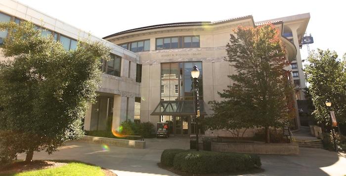 Robert W. Woodruff Library. Photo by Jason Oh.