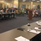Over 50 students attended Monday's Student Government Association (SGA) meeting at last year's meeting. | Rupsha Basu