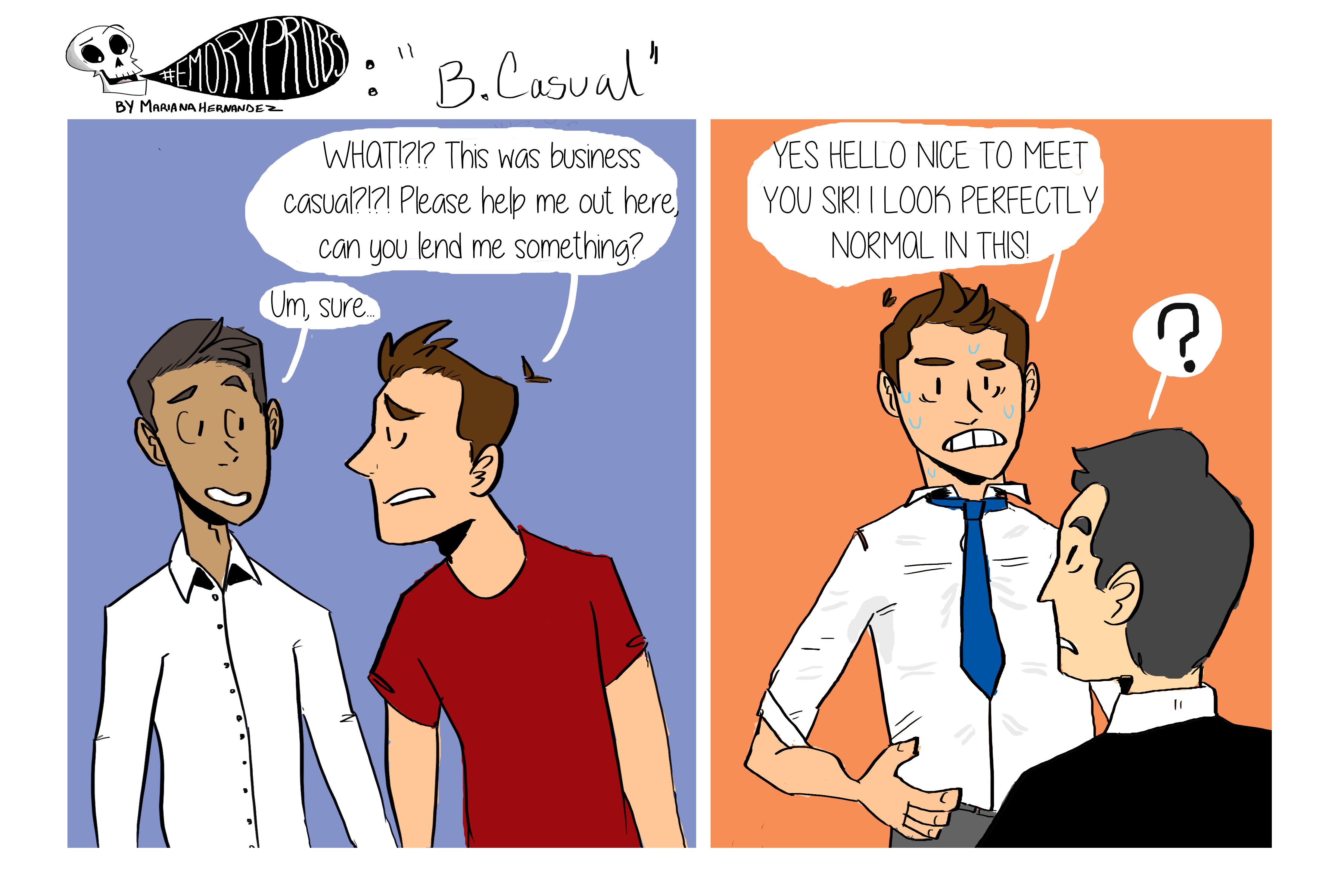 Student Life Comic | 10.3.14