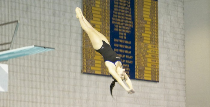 Eagles Win Season's First Diving Invitational
