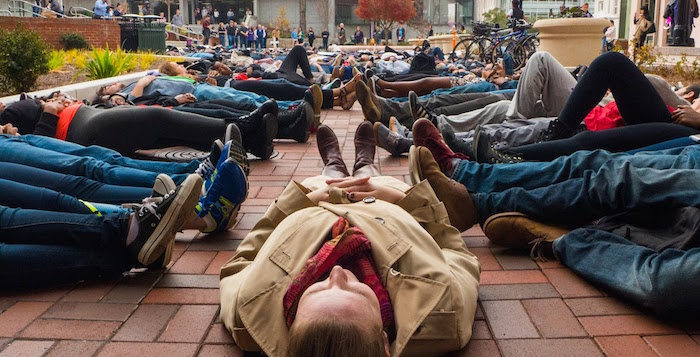 'Black Lives Matter,' Chant Emory Community Members in Protest