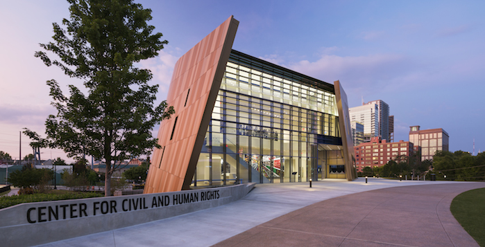Emory students will visit the Center for Civil and Human Rights Saturday as part of the University King Week celebration. | Photo courtesy of Center for Civil and Human Rights