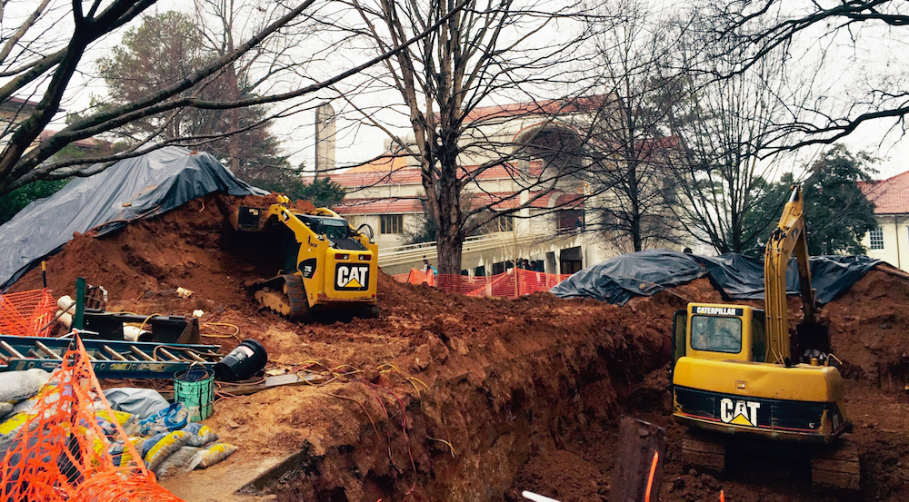 Campus Updates: Callaway Flooding, Tree Removal and More