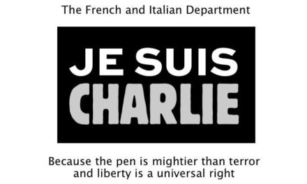 Letter to the Editor: Je Suis Charlie
