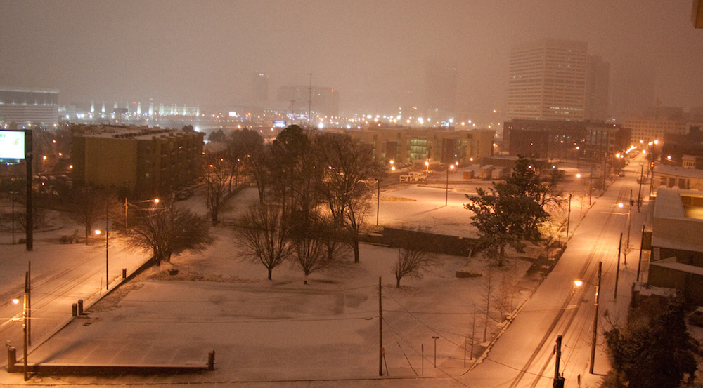 Atlanta in wintertime. | Courtesy of camerazn, Flickr Creative Commons