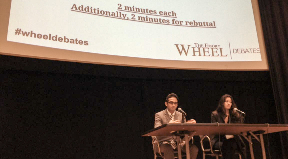 CC, SGA Candidates Face Off in Wheel Debates