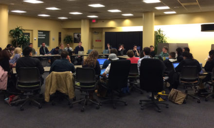 SGA Takes Workforce Survey, Discusses Term 'University-Wide,' Student Experience Fund