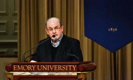 Rushdie Talks Freedom of Speech