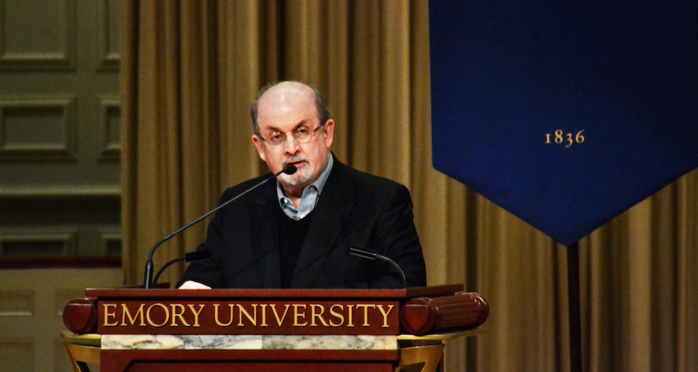 salman rushdie emory graduation speech