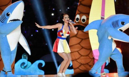 Katy Perry Wows At the Super Bowl