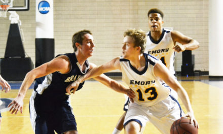 Team Defeats Brandeis, Falls to NYU a Second Time