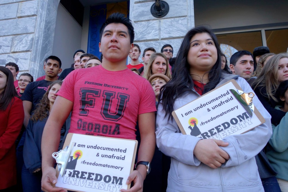 Undocumented Student Activists Meet With Financial Aid, Campus Life Administrators