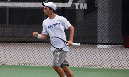 Men's Tennis Goes 2-1 During Away Weekend