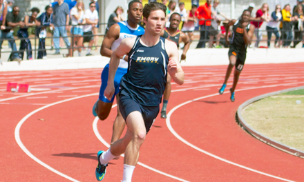 Track Team Splits Up for Two Away Meets