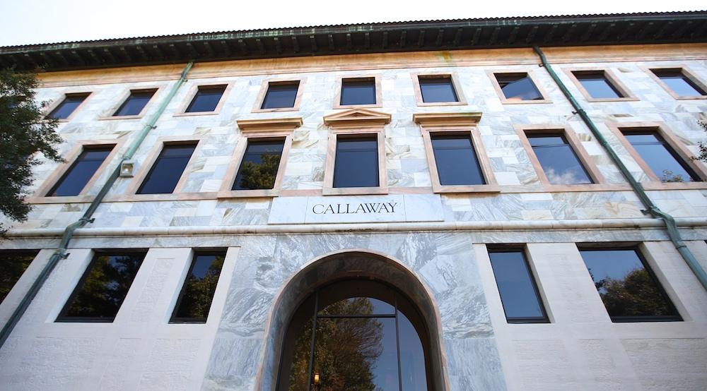 Callaway Memorial Center. | Photo by Jason Oh