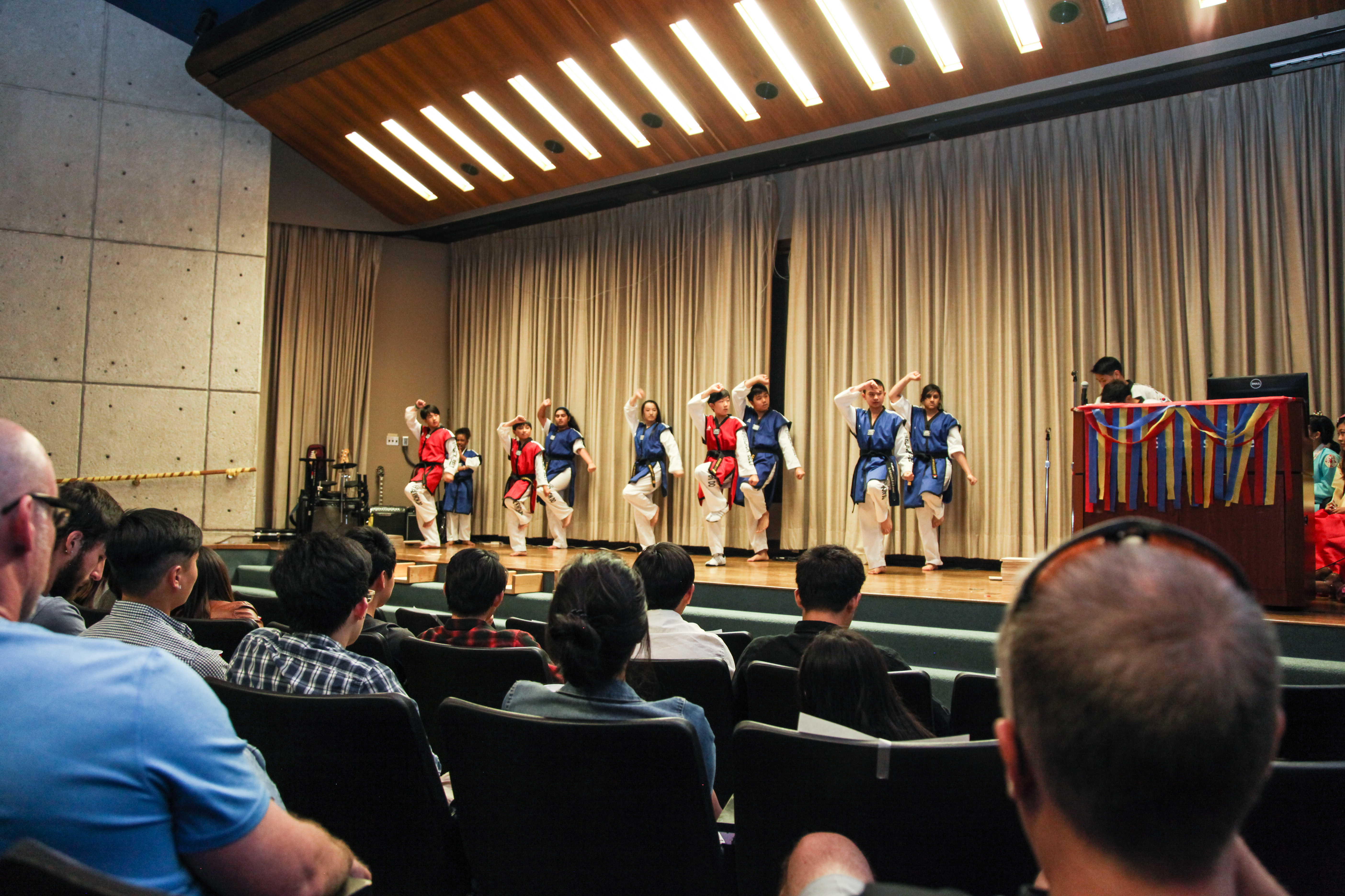Korean Student Groups Present Culture Night