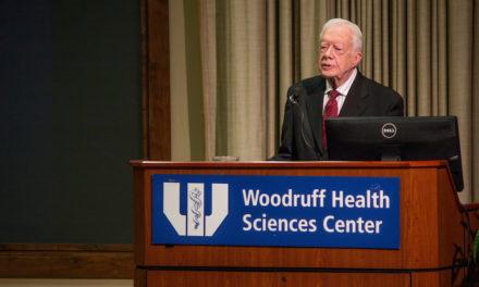 President Applauds Carter Center's Ebola Efforts