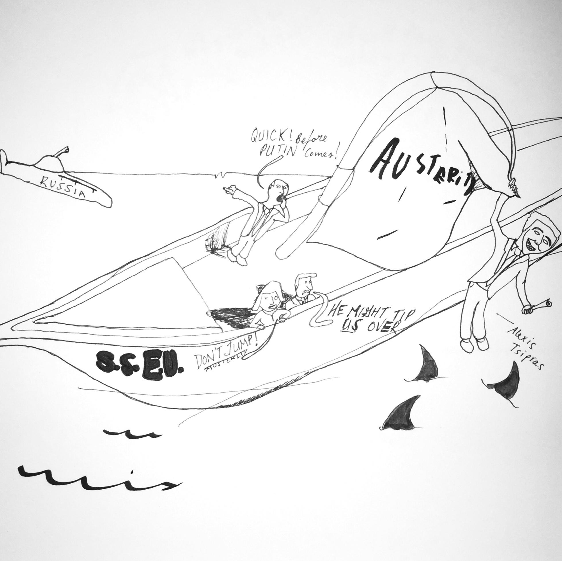 Cartoon by Luis Blanco