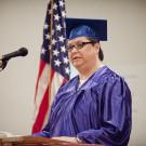 Gissendaner at her theology graduation ceremony at Arrendale State Prison | Courtesy of Ann Borden