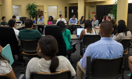 SGA Conducts First Meeting, Looks to Collaborate with College Council