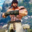 Ryu from video game Street Fighter / Courtesy of Capcom