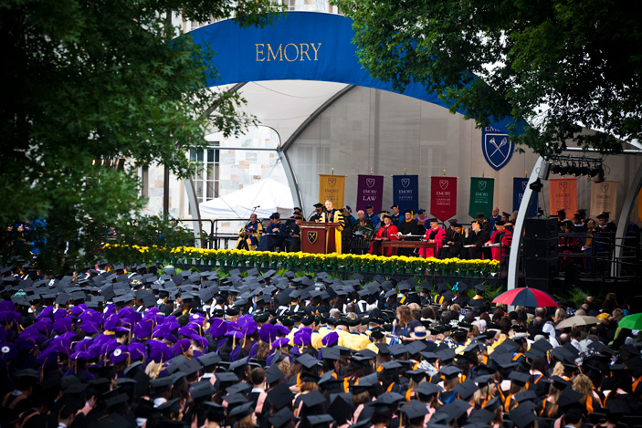 Emory Will Not Award Honorary Degrees For First Time in 48 Years