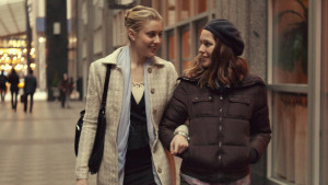 """Greta Gerwig and Lola Kirke star in the comedy film """"Mistress America,"""" directed by Noah Baumbach."""
